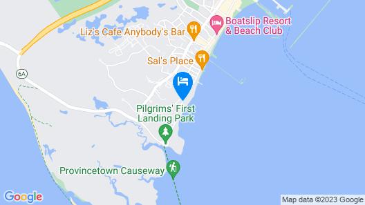 The Masthead Resort Map