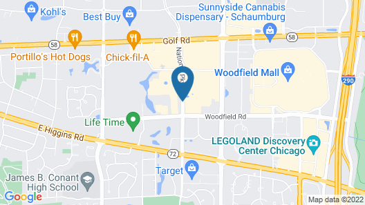 DoubleTree by Hilton Chicago - Schaumburg Map