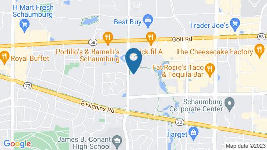 Sonesta ES Suites Chicago - Schaumburg Map