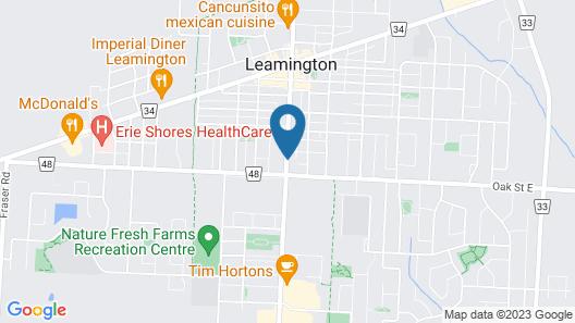 Rymal's Motel Map