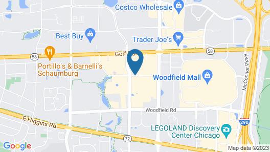 HYATT house Chicago/Schaumburg Map