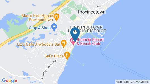 Anchor Inn Beach House Map