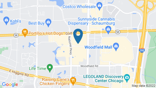 Home2 Suites by Hilton Chicago/Schaumburg, IL Map