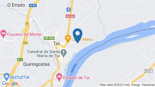 Albergue Convento Del Camino Map
