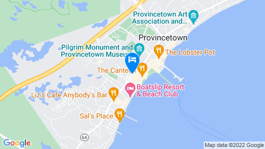 Crowne Pointe Historic Inn & Spa - Adults Only Map