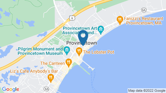 Christopher's by the Bay Map