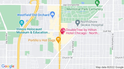 DoubleTree by Hilton Chicago - North Shore Conference Center Map