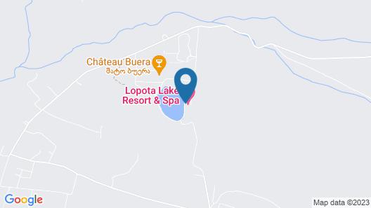 Lopota Lake Resort & Spa Map