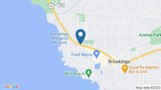 Brookings Inn Resort Map