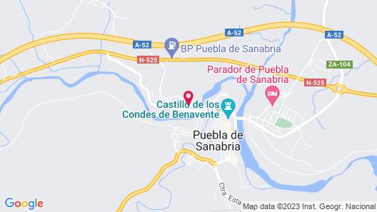 Hotel Los Perales Map