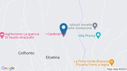 I Cardinali Map