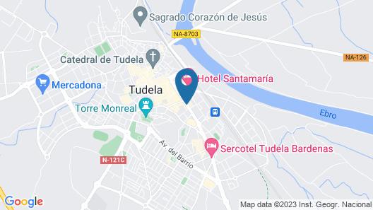 Hotel Delta Map