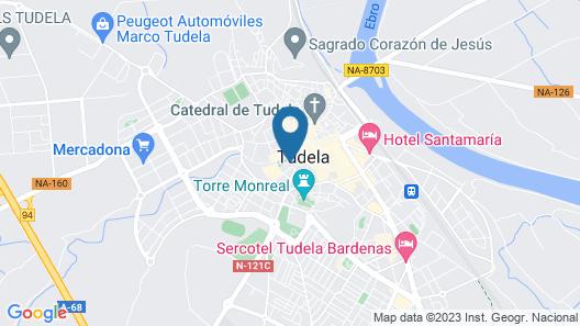 AC Hotel Ciudad de Tudela by Marriott Map