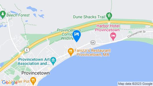 Cape Colony Inn Map