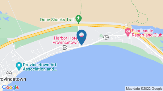 Harbor Hotel Provincetown Map
