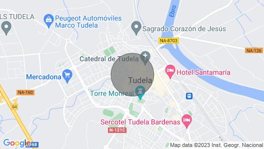 Duplex, Tudela Palacio Arizcun. UAT00941. Map