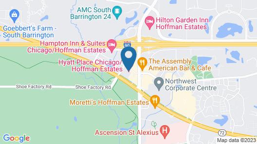 Hyatt Place Chicago/Hoffman Estates Map