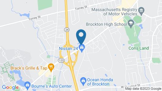 Rodeway Inn South of Boston Map