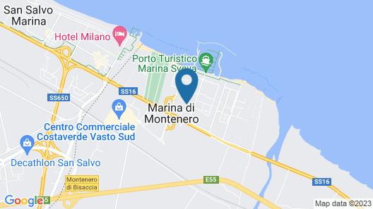 Villaggio Turistico Le Meridiane Map