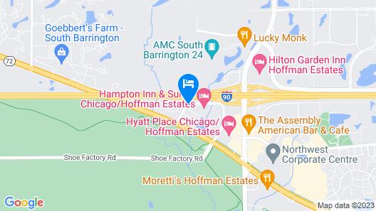 Hawthorn Suites by Wyndham Chicago Hoffman Estates Map