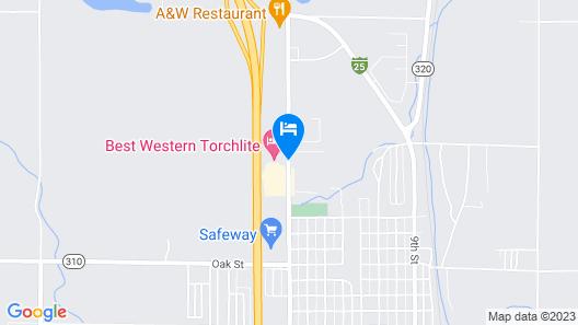 Best Western Torchlite Map