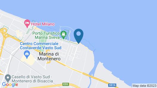 Hotel Strand Map