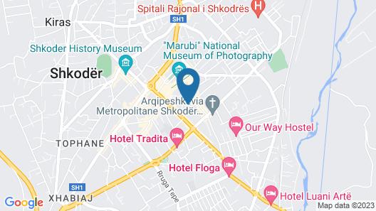Petit Hotel Elita Map