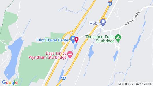 Days Inn by Wyndham Sturbridge Map
