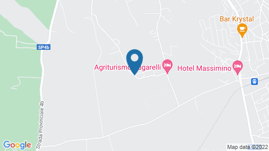Agriturismo Zugarelli Map