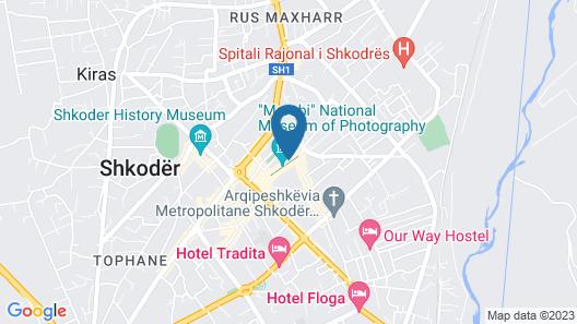Carmen Hotel Shkoder Map