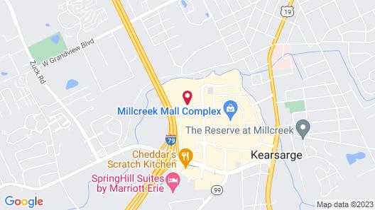 Fairfield Inn by Marriott Erie Millcreek Mall Map