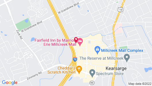 TownePlace Suites by Marriott - Millcreek Mall Map