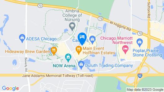 Holiday Inn Express & Suites Hoffman Estates, an IHG Hotel Map