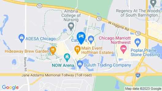 Holiday Inn Express & Suites Hoffman Estates Map