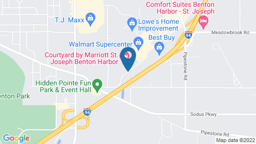 Hilton Garden Inn Benton Harbor/St. Joseph Map