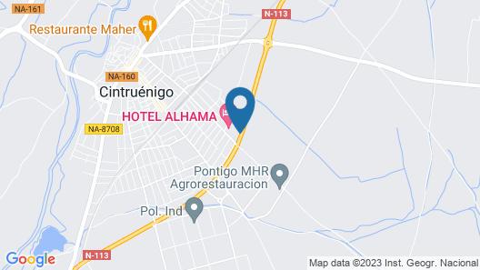 Hotel Alhama Map