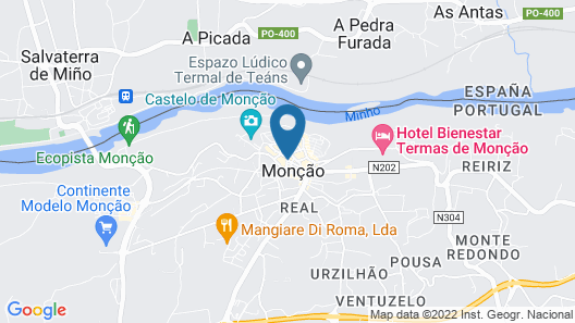 Hotel Vila Esteves Map