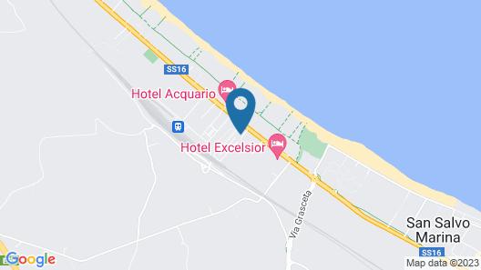 Dakar Living Hotel Map