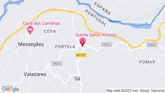 Quinta de Santo Antonio Map