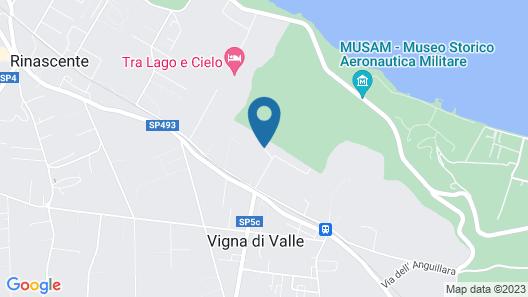 Agriturismo Fontelupo Map