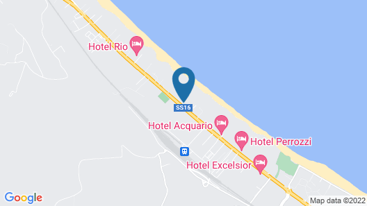 Camping&Residence Il Pioppeto Map