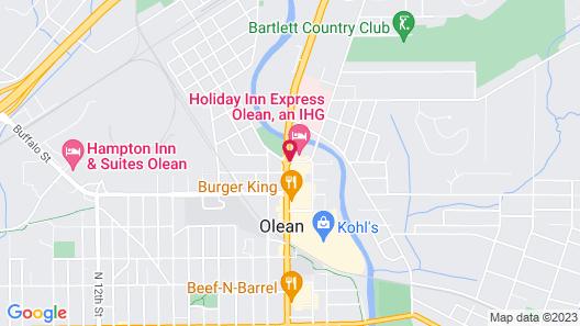 Holiday Inn Express Olean, an IHG Hotel Map