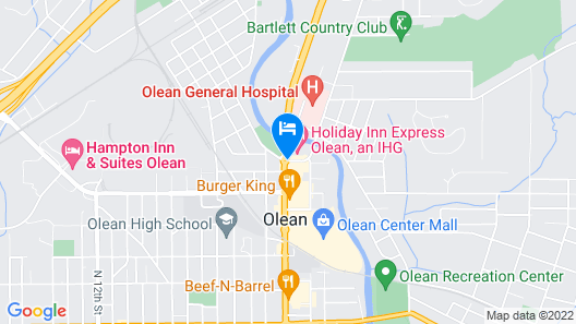 Holiday Inn Express Olean, an IHG Hotel Map