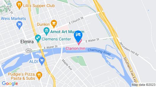 Holiday Inn Elmira - Horseheads, an IHG Hotel Map