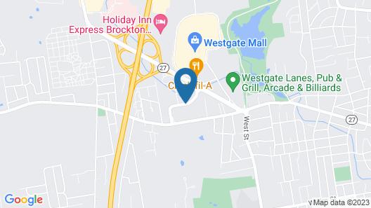 Country Inn & Suites by Radisson, Brockton (Boston), MA Map