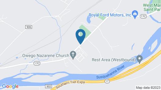 Sunrise Motel Map