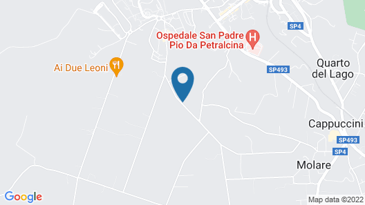 Bed and Breakfast Il Giardino Map