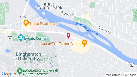 Residence Inn By Marriott Binghamton University Map