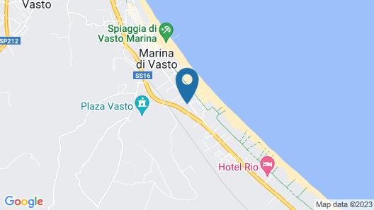 Hotel Adriatico Map