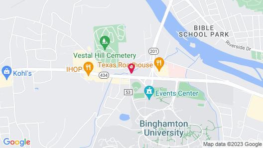 Quality Inn & Suites Vestal Binghamton near University Map